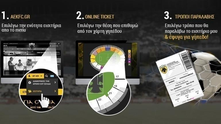Τα εισιτήρια για το ντέρμπι της Αθήνας