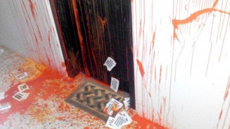 Αντιεξουσιαστές επιτέθηκαν στα γραφεία του ΣΥΡΙΖΑ στην Ξάνθη