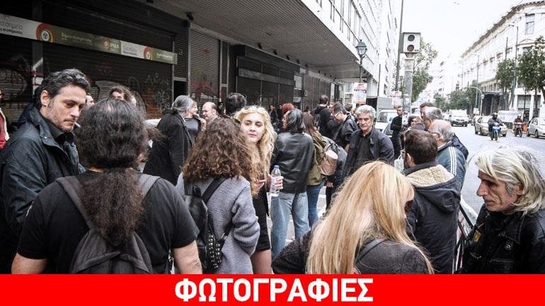 Διαδήλωση ανέργων και εργαζομένων με ελαστική σχέση εργασίας
