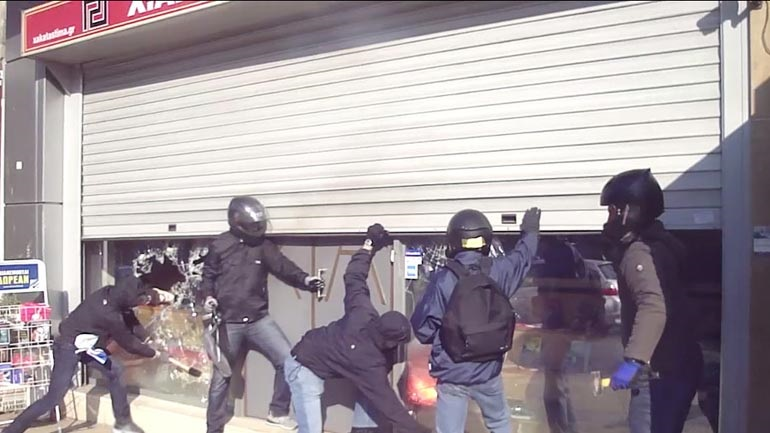 Η «Ταξιαρχία Παύλος Φύσσας» ανέλαβε την ευθύνη για την επίθεση στα γραφεία της Χρυσής Αυγής