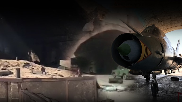 Καταστροφές στη Χομς από την επίθεση