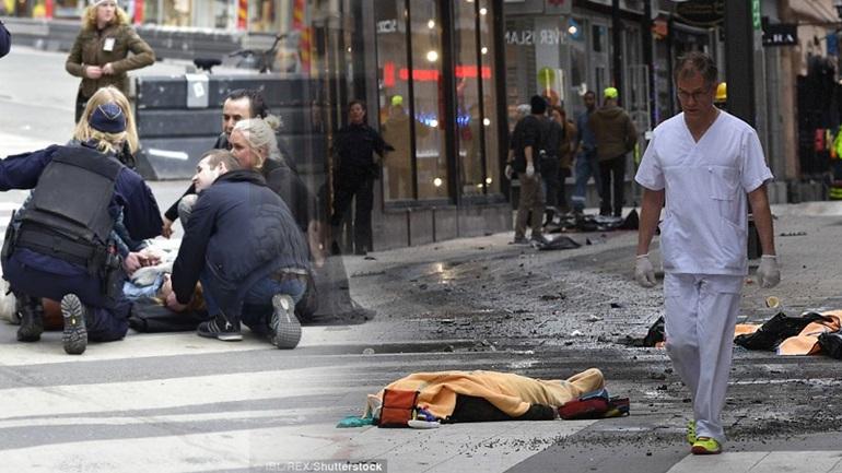 Τρομοκρατικό χτύπημα στη Στοκχόλμη