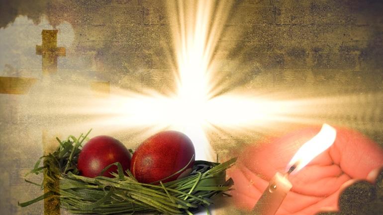 Αποτέλεσμα εικόνας για τελετή για την Ανάσταση του Κυρίου.