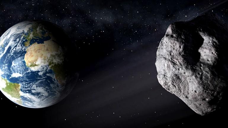 Αστεροειδής περνά ξυστά από τη Γη