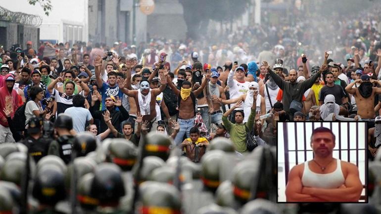 Η Βενεζουέλα στις φλόγες