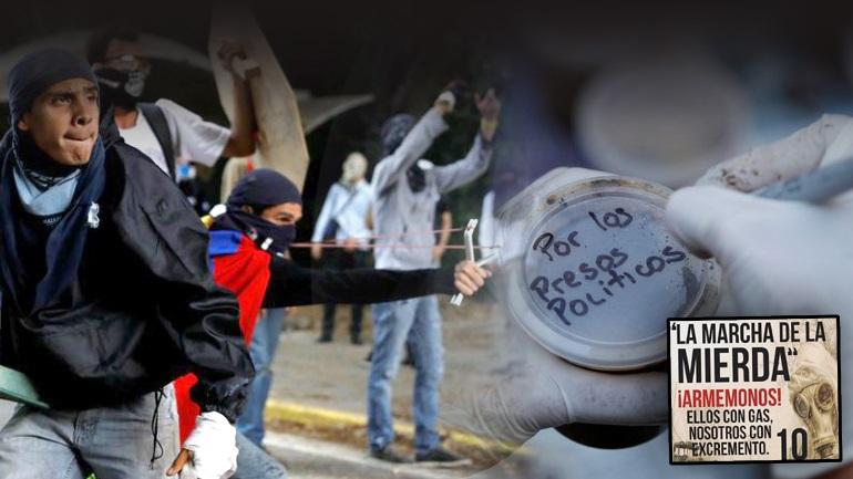 Βενεζουέλα: Με όπλο τα περιττώματα