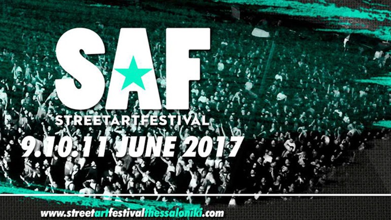 Street Art SAF Festival: Tο μεγαλύτερο φεστιβάλ νεολαίας της Θεσσαλονίκης