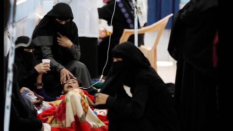 Η χολέρα έχει στοιχίσει τη ζωή 180 ανθρώπων στην Υεμένη