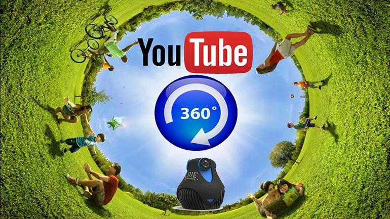 Το YouTube φέρνει τα βίντεο 360 μοιρών στην τηλεόραση σας