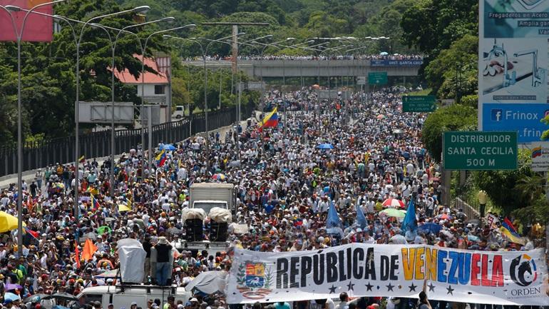 Πενήντα ημέρες εξέγερση στο Καράκας