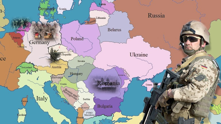 H Γερμανία στήνει αθόρυβα ευρωπαϊκό στρατό