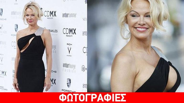 «Τυφώνας» Pamela Anderson - Το αβυσσαλέο μπούστο που προκάλεσε ντελίριο ενθουσιασμού στο Μόντε Κάρλο