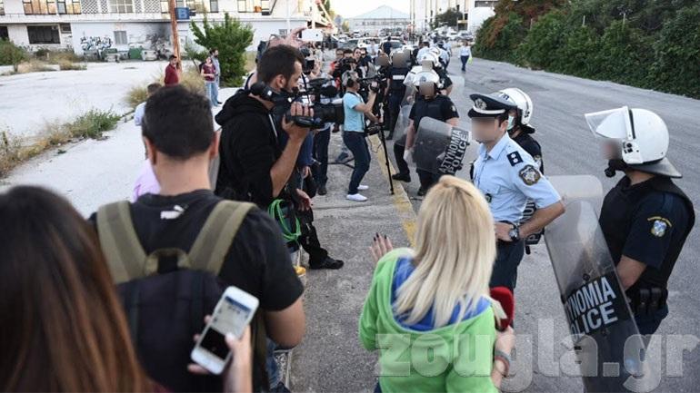 «Ανεπιθύμητοι» οι δημοσιογράφοι στην περιοχή του Ελληνικού