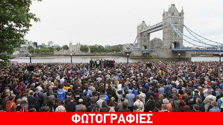 Οι Λονδρέζοι πενθούν για τα θύματα της επίθεσης