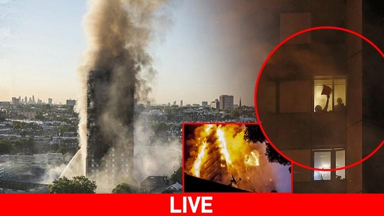 Τραγωδία στο Λονδίνο: Τουλάχιστον έξι νεκροί - Δεκάδες αγνοούμενοι