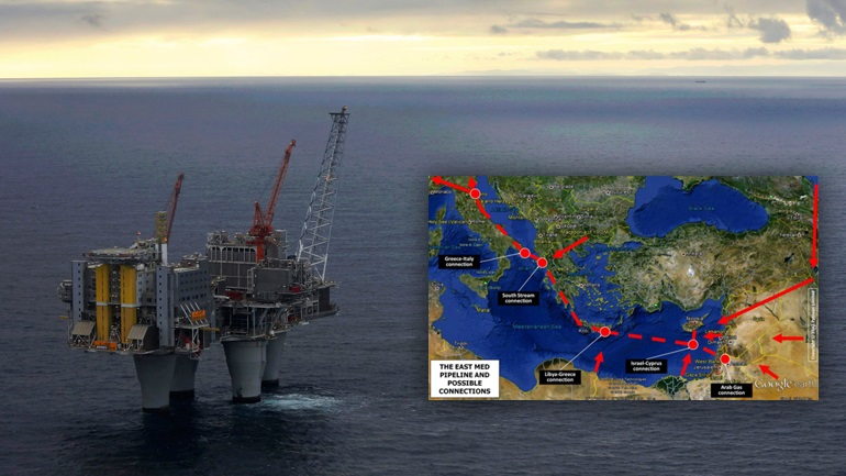East Med: Η στρατηγική απάντηση Ελλάδας- Κύπρου - Ισραήλ