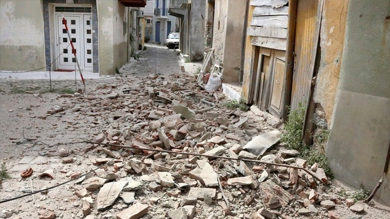Σεισμός στη Λέσβο: Το νησί απομακρύνθηκε κατά 4,4 εκατοστά από τη Χίο