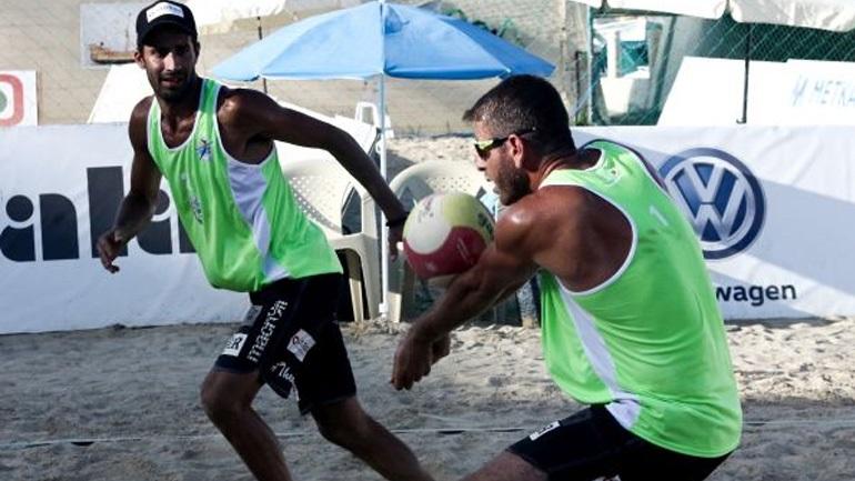 Beach Volley: Στα ημιτελικά του Ξυλοκάστρου Νιώπας, Παπαδημητρίου και Κοτσιλιάνος, Κωστόπουλος