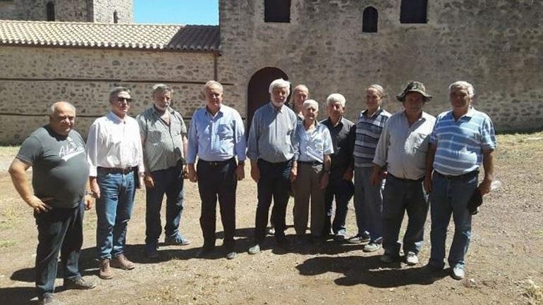 Τατούλης και Λαμπρόπουλος επισκέφθηκαν έργα της Μεσσηνίας