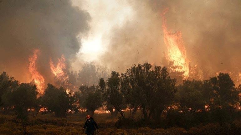 ΓΓΠΠ: Πολύ υψηλός κίνδυνος πυρκαγιάς για την Τετάρτη