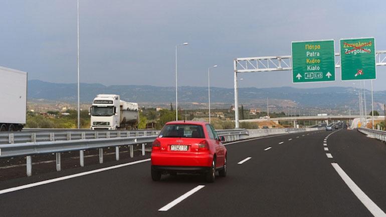 Νέα διόδια στον αυτοκινητόδρομο Κορίνθου-Πατρών