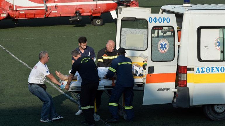 Κρίσιμη η κατάσταση της υγείας του πυροσβέστη που τραυματίστηκε σοβαρά στο Ζευγολατιό