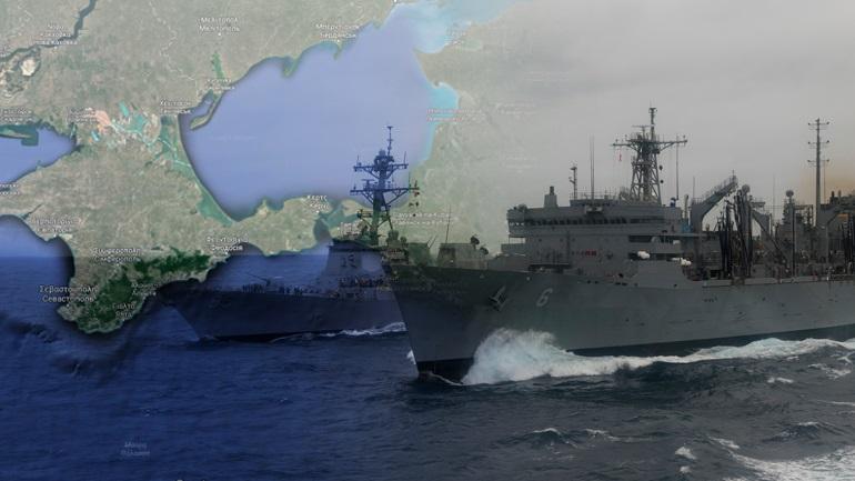 Ψυχροπολεμικά γυμνάσια στην Κριμαία