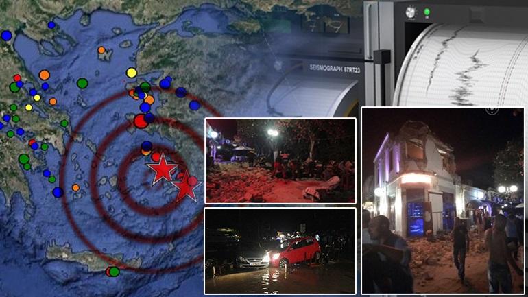 Ισχυρός σεισμός στα Δωδεκάνησα με δύο νεκρούς