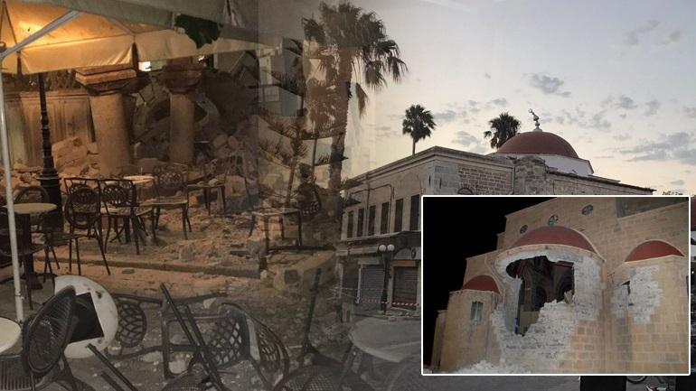 Καταστροφικός σεισμός στην Κω με δύο νεκρούς