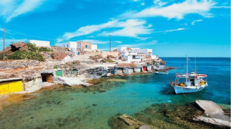 Κίμωλος: Το μικρό νησί με τις μεγάλες χάρες