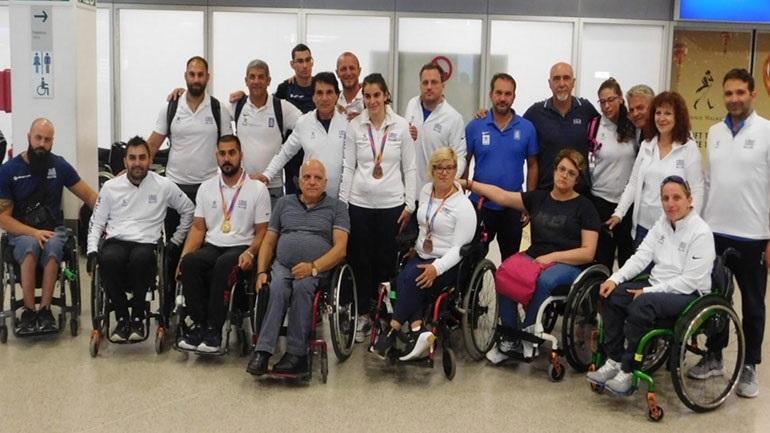 Οκτώ μετάλλια κατέκτησε η Ελληνική Παραολυμπιακή Ομάδα στο Παγκόσμιο του Λονδίνου