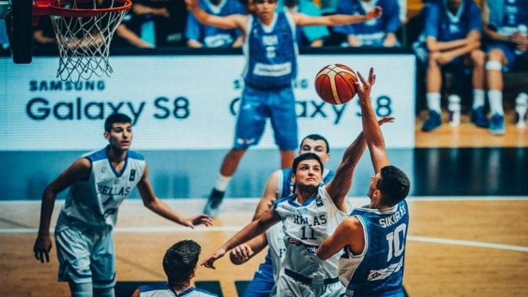Έβδομοι στο Ευρωμπάσκετ οι Έφηβοι, 77-55 τη Βοσνία