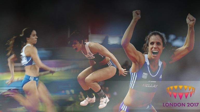 Παγκόσμια πρωταθλήτρια η Στεφανίδη