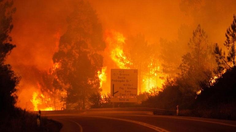 Πορτογαλία: Υπό έλεγχο έχουν τεθεί οι δύο μεγάλες πυρκαγιές