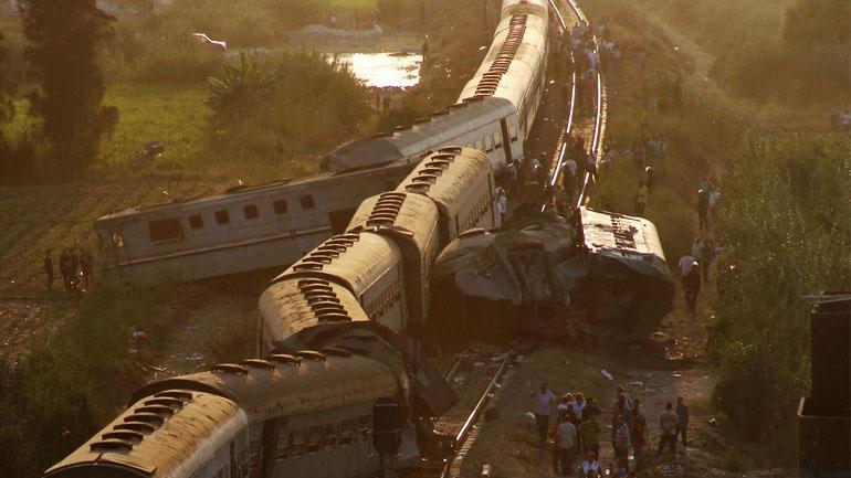 Αίγυπτος: Σε μια δεκαετία έχουν καταγραφεί 12.236 δυστυχήματα τρένων