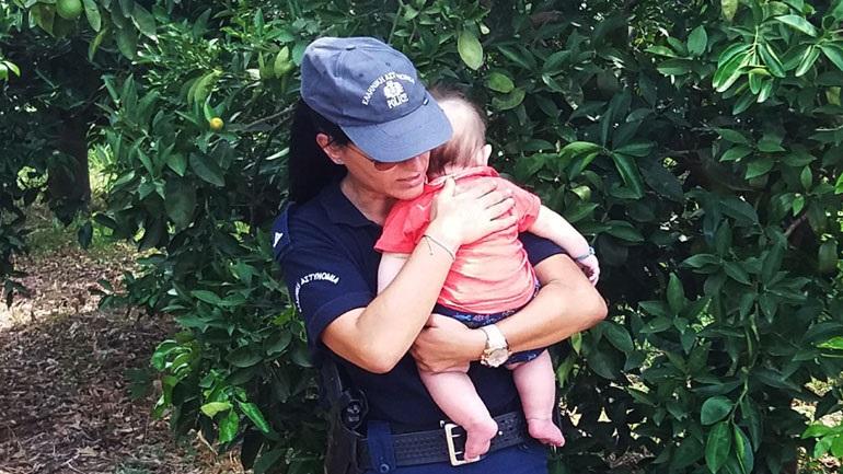 """Ναύπλιο: Αστυνομικός γίνεται """"μητέρα"""", μετά από σοβαρό τροχαίο των γονιών του μωρού"""
