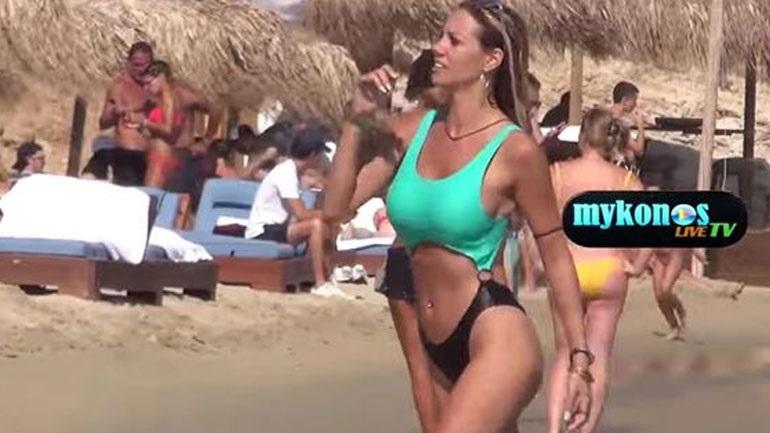 Η Σάσα Μπάστα αναστατώνει το νησί των ανέμων! (Βίντεο)