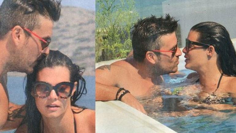 Μαρία Κορινθίου, Γιάννης Αϊβάζης: Τρυφερά τετ-α-τετ σε υπερπολυτελή πισίνα ξενοδοχείου! (Εικόνες)