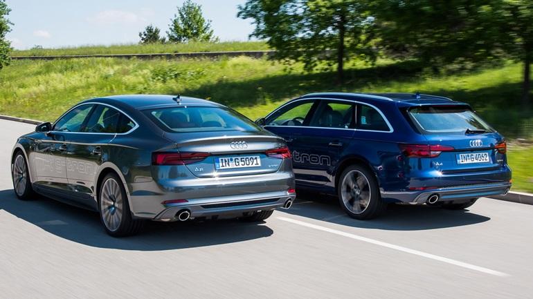 Με φυσικό αέριο τα Audi A4 Avant και A5 Sportback