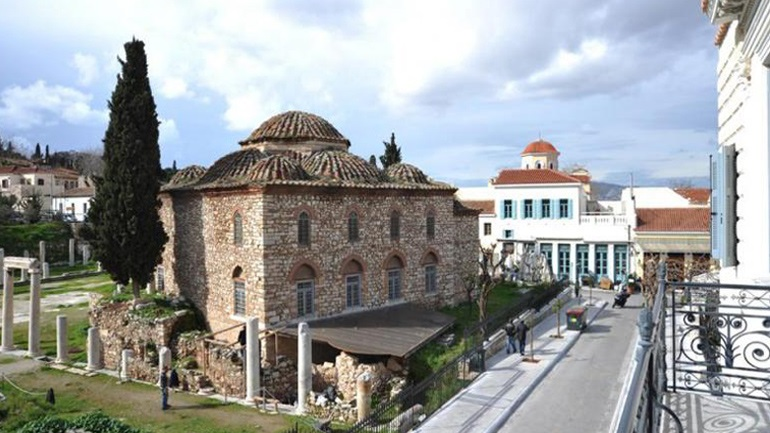 Το Φετιχιέ τζαμί στη Ρωμαϊκή Αγορά ανοίγει για το κοινό με μια φωτογραφική έκθεση