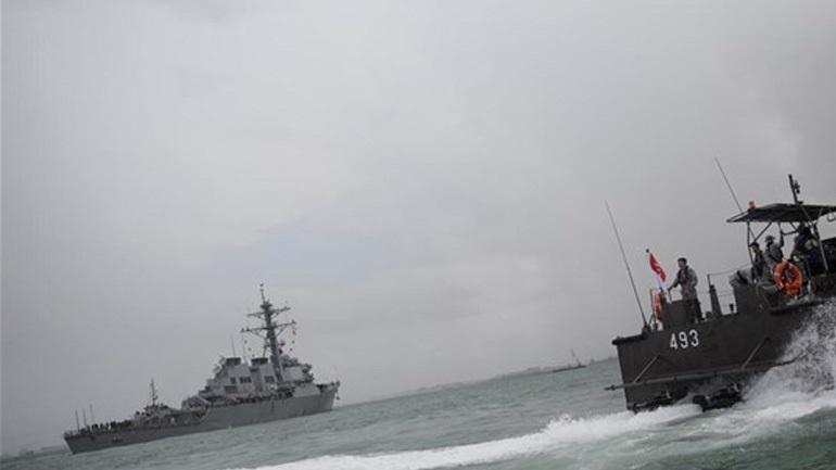 To αμερικανικό πολεμικό Ναυτικό ξεκινά επιθεώρηση του στόλου