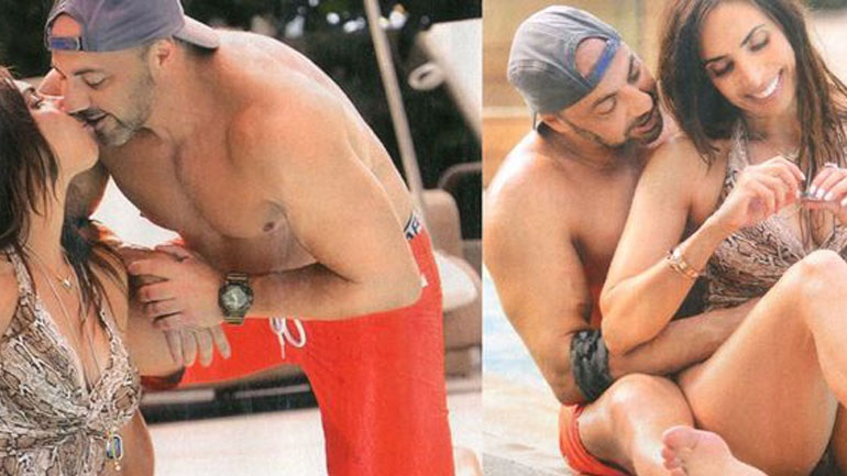 Μάγκυ Χαραλαμπίδου: Τρυφερά ενσταντανέ στην πισίνα με τον σύντροφό της! (Εικόνες)