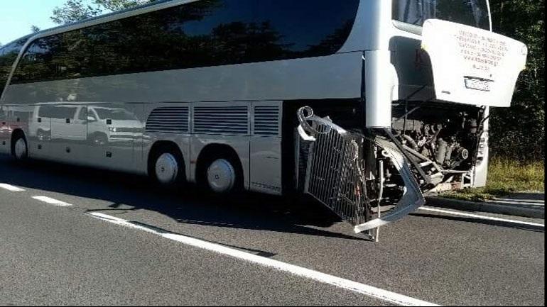 Ατύχημα με ελληνικό λεωφορείο στην Σλοβενία