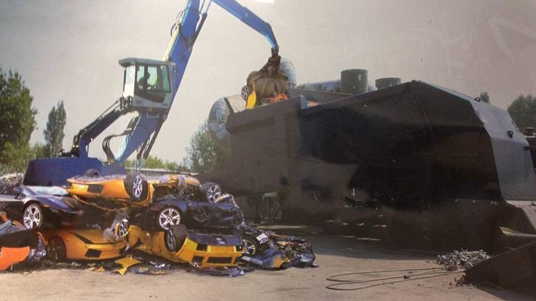 Ferrari και Lamborghini για... ανακύκλωση