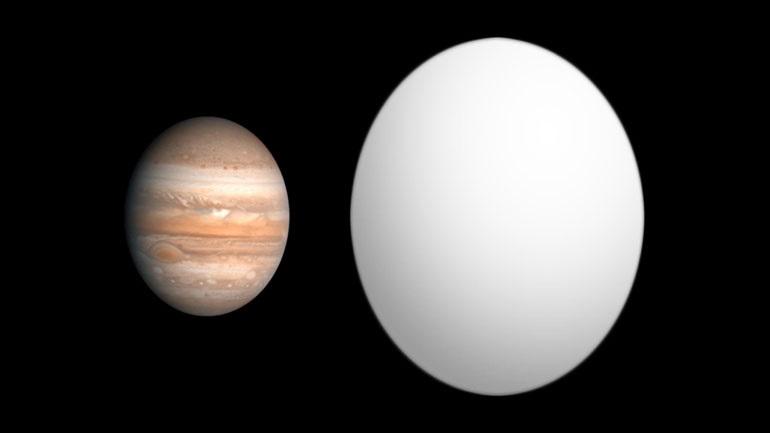Ανακαλύφθηκε ένας εξωπλανήτης κατάμαυρος σαν φρέσκια άσφαλτος!