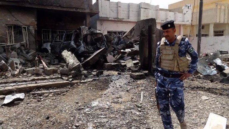 Ιράκ: Διπλή επίθεση βομβιστών-καμικάζι με 74 νεκρούς