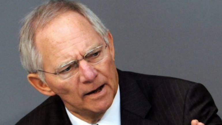 Σόιμπλε: Προβληματική η συμμετοχή στην Ευρωζώνη όταν δεν πληρούνται οι προϋποθέσεις