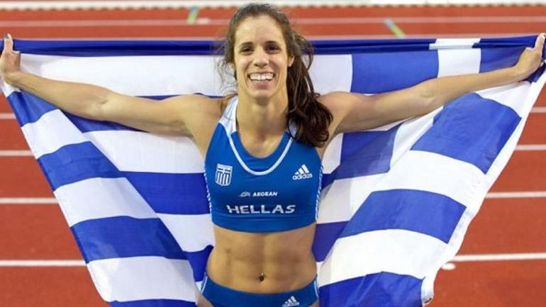 Η Κατερίνα Στεφανίδη έτοιμη και για τον τίτλο της κορυφαίας αθλήτριας της Ευρώπης