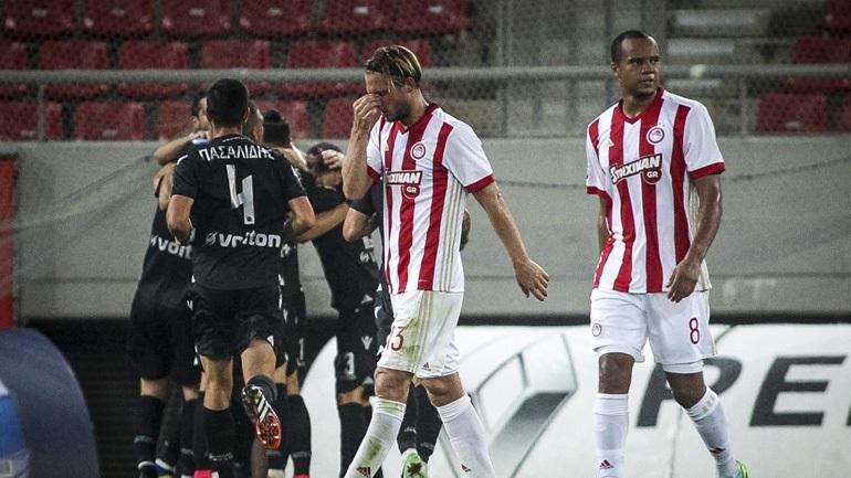 «Γκέλα» για τον Ολυμπιακό, 1-1 με τον Αστέρα Τρίπολης