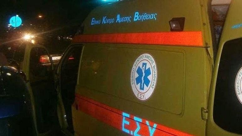Σοβαρό τροχαίο με τραυματία οδηγό μηχανής στα Καμένα Βούρλα